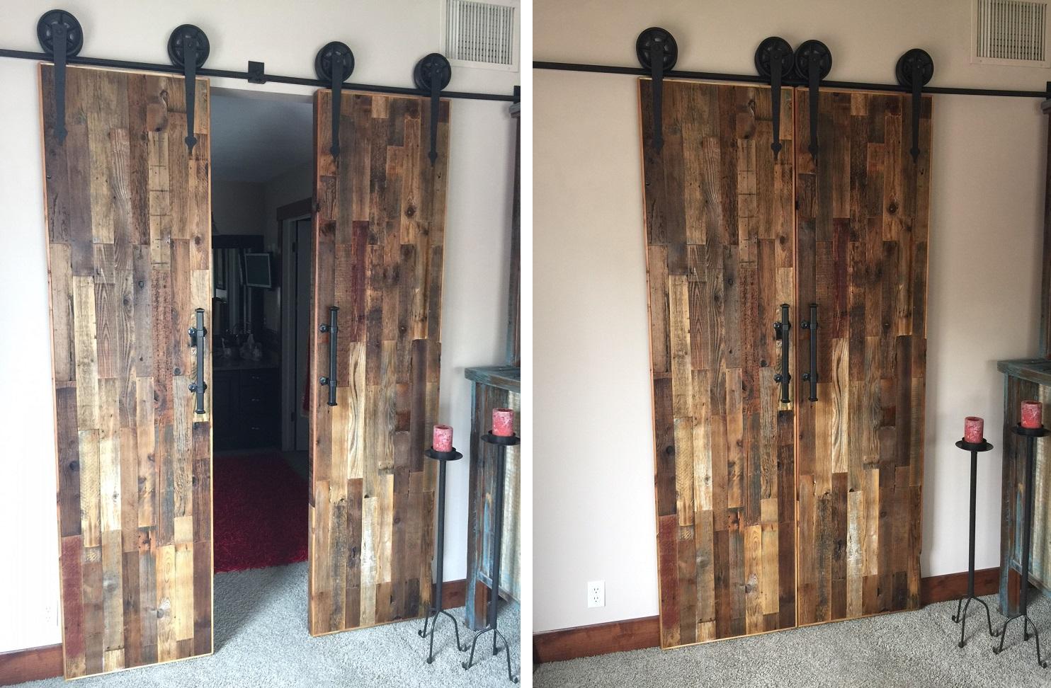 Barnwood Doors & Custom Made Reclaimed Barn Wood Sliding