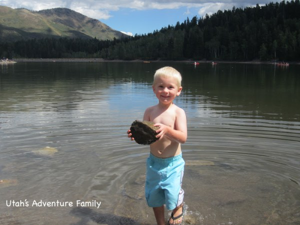 Can't go to a lake without throwing rocks in, can we?