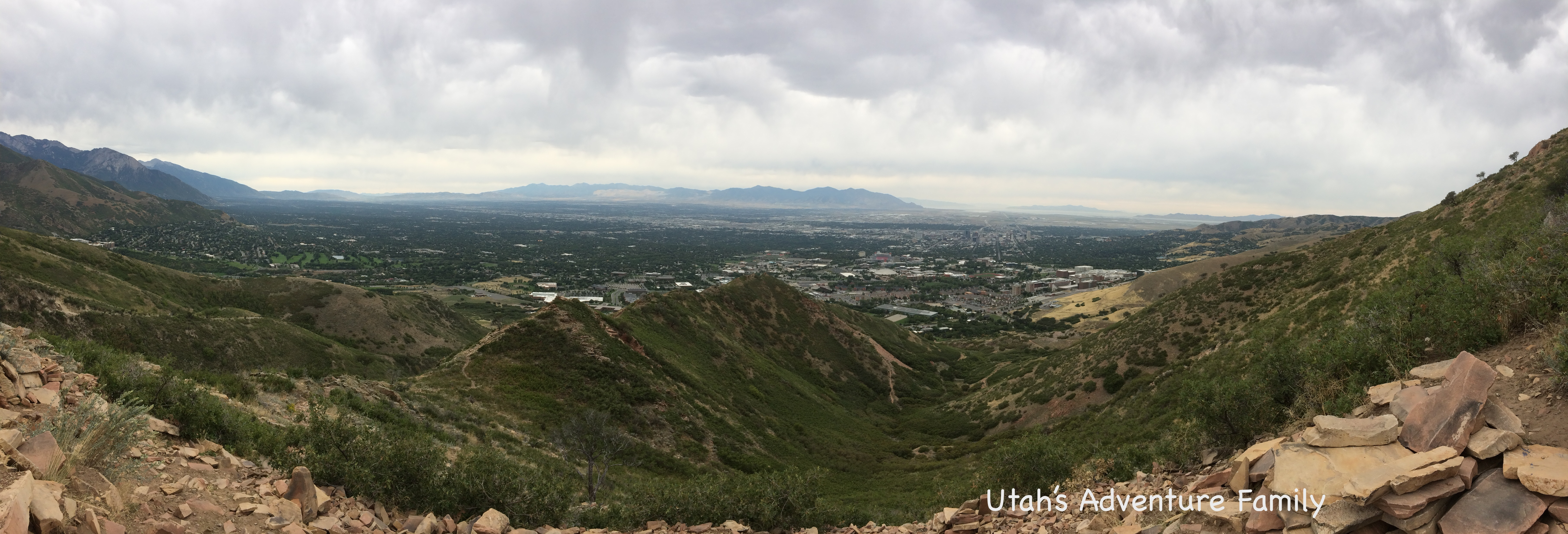 The View Of Salt Lake Valley Is Really Nice