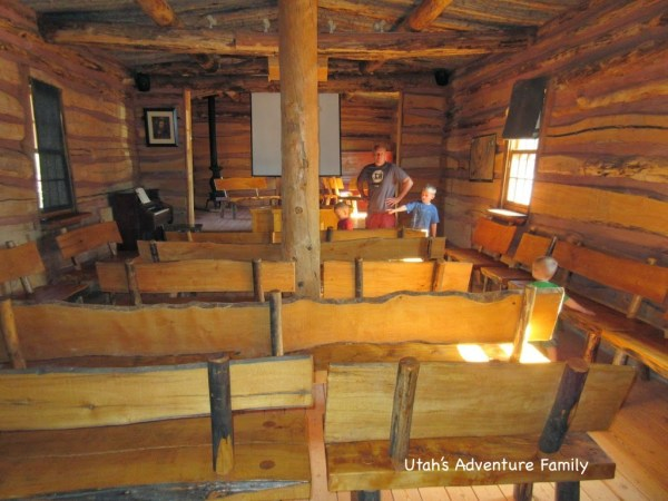 An old meeting house (replica)