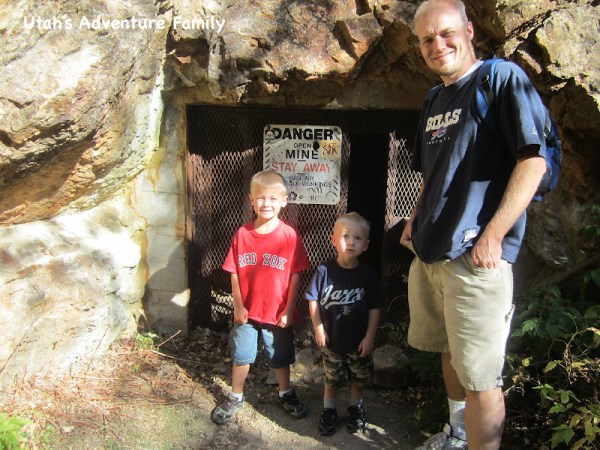 The mine that is near Hidden Falls.