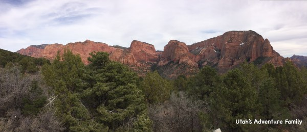 We think Kolob Canyons is a beautiful part of Zion National Park! This panorama was taken at the top of the drive.