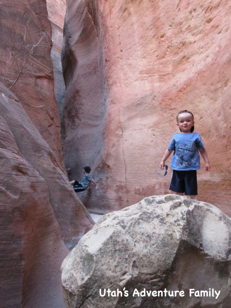 Red Hollow Slot Canyon