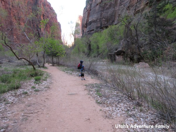 Riverside Walk Zion