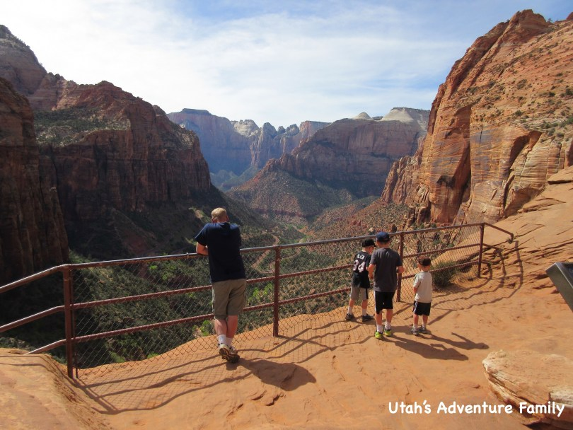 Canyon Overlook Trail in Zion - Utah's Adventure Family | 810 x 608 jpeg 128kB