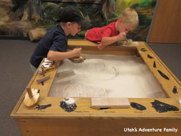 Our boys loved this sand table.