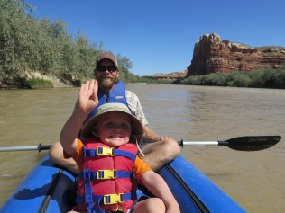 First float trip on the San Juan River- San Juan County, UT