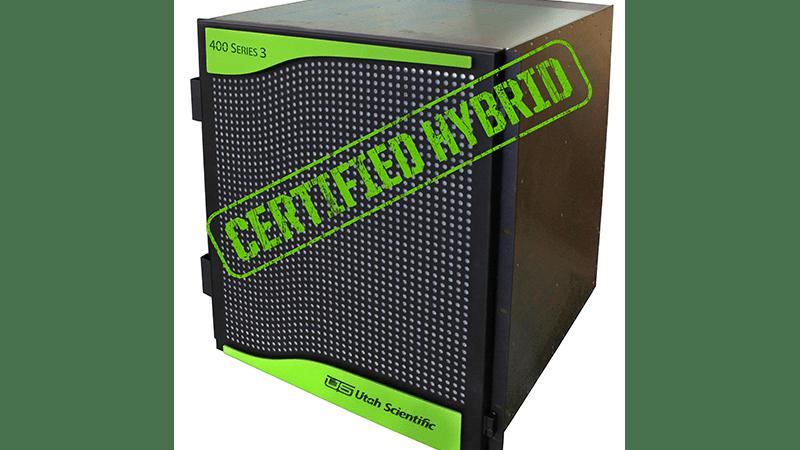 UTAH 400 Series 3 Certified Hybrid