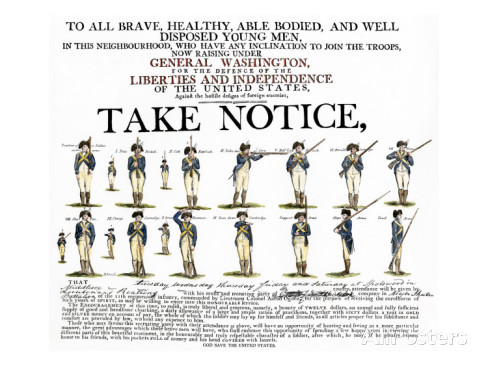 recruitment-poster-for-continental-soldiers-to-serve-in-the-american-revolution