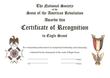 SAR_EagleCertificateofRecognition