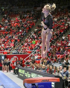 Georgia Dabritz Utah Gymnastics