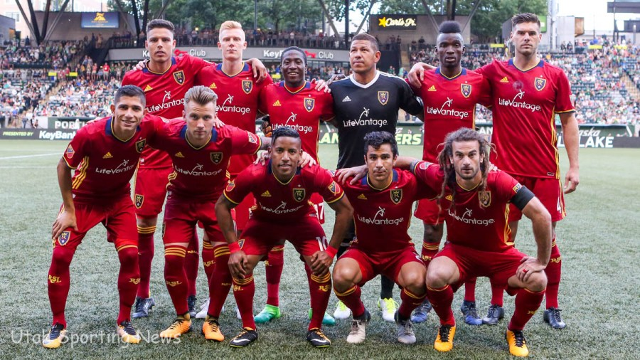 Real Salt Lake Starting XI