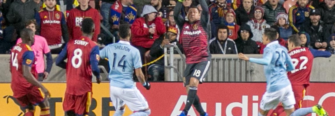 RSL draws with SKC in first leg of Western Conference semifinal
