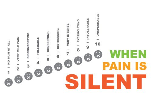 small resolution of illustration of a modified pain scale used in hospitals featuring faces with band aids covering