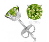 Peridot (August Birthstone) 2 Carat Earrings  $4.99 ...
