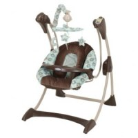 ***TODAY ONLY***Graco Silhouette Baby Swing: $69 Shipped
