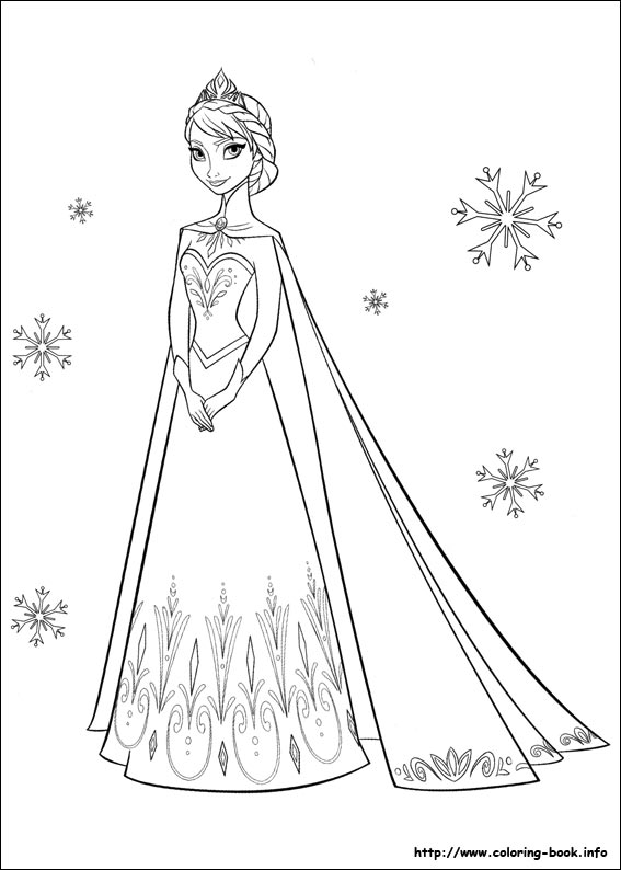 Free Coloring Pictures Of Elsa And Anna - Novocom.top
