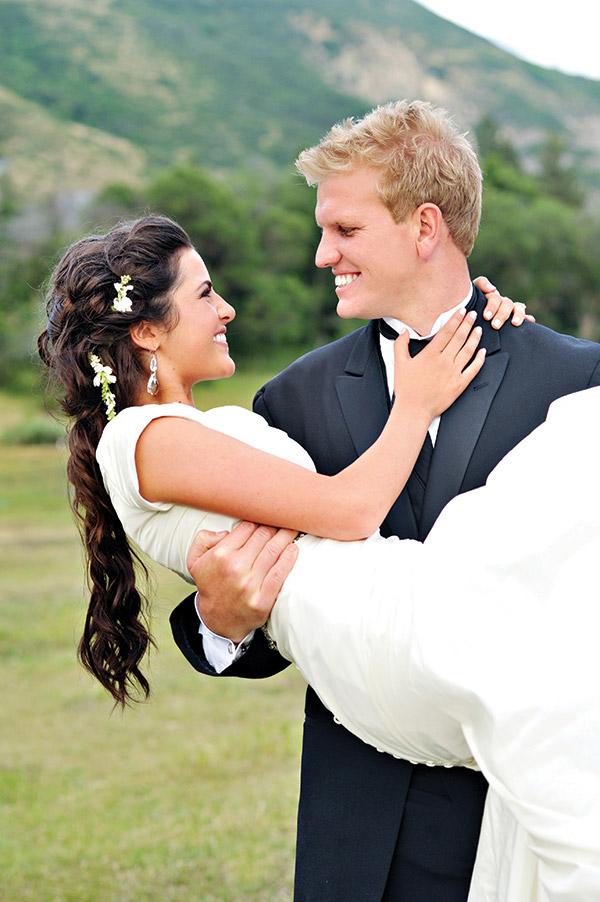 Flashback Friday Rachel Drew Utah Valley Bride