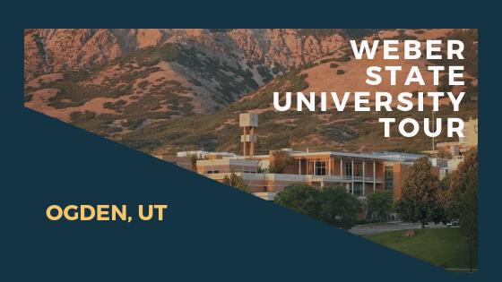 UTVA Students Tour Weber State University