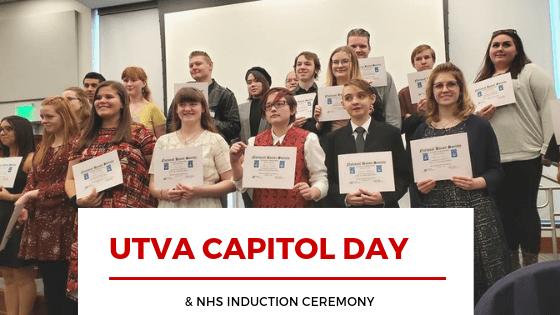 UTVA Students @ Utah State Capitol