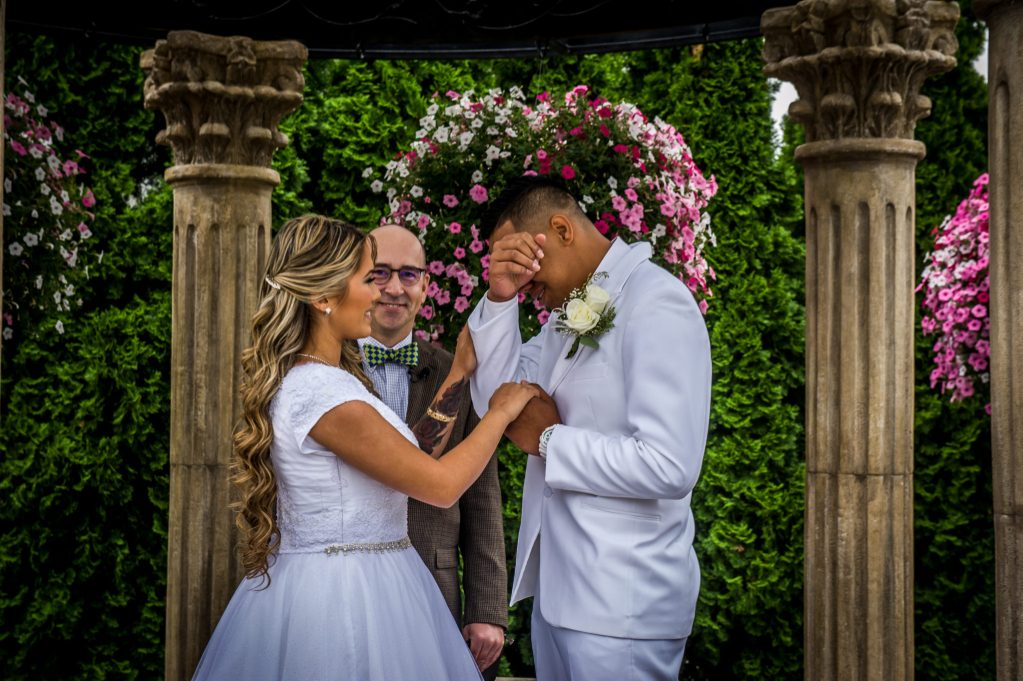 wedding ceremony vows Ryan hender photography le garden wedding venue sandy utah