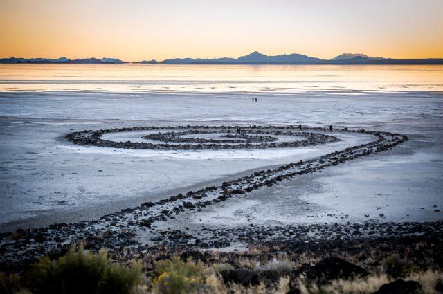 Spiral Jetty Great Salt Lake Wedding | Kimberly + Ryan – Ryan Hender ...
