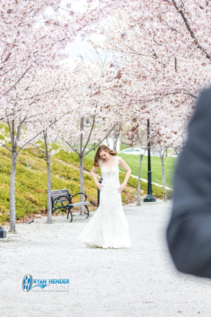utah state capitol bridal photo shoot