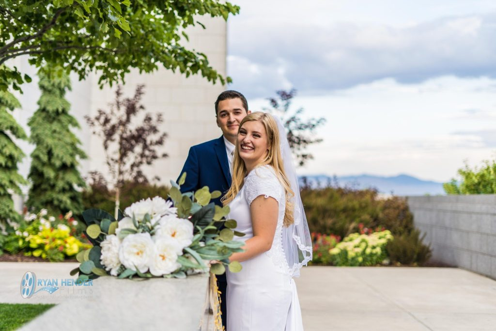 wedding photography draper utah temple