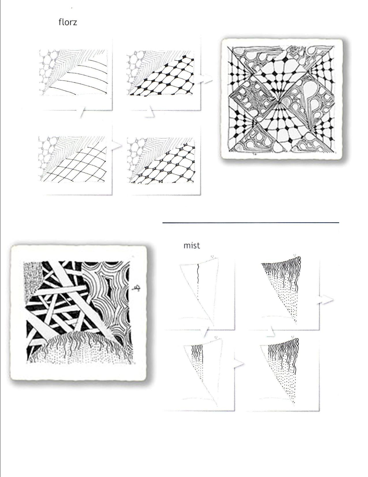 Printable Zentangles
