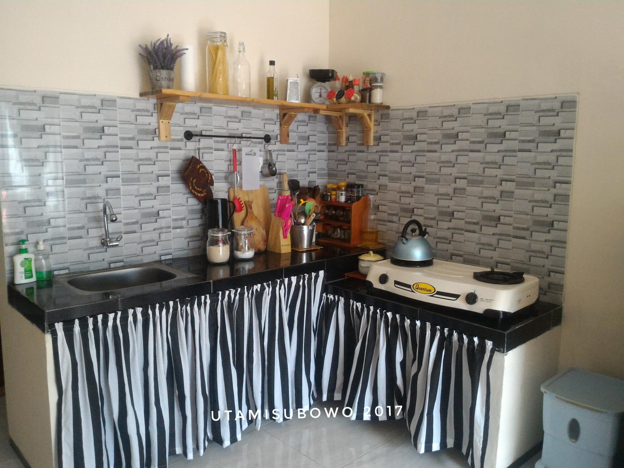 Ide dapur kecil minimalis / kitchen design /small kitchen ...