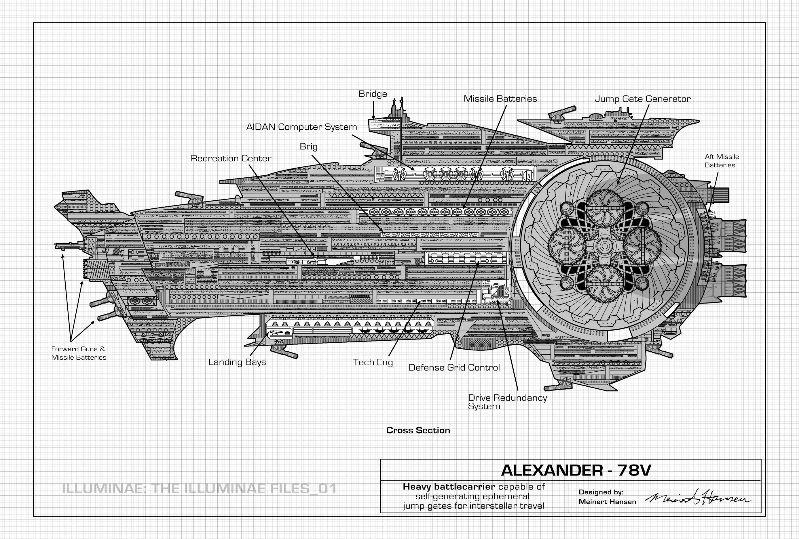 Illuminae The Illuminae Files 01 Spaceship Designs