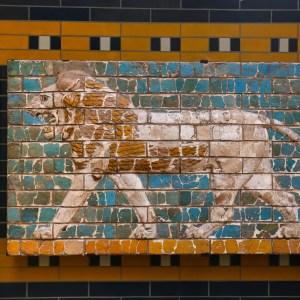 babilóni csempemozaik