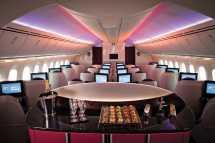 Qatar Airways Boeing 787 Dreamliner Inside