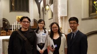 UTCCC family photo after Easter Vigil (minus Matthew)