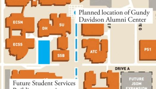SSB addition, alumni center underway