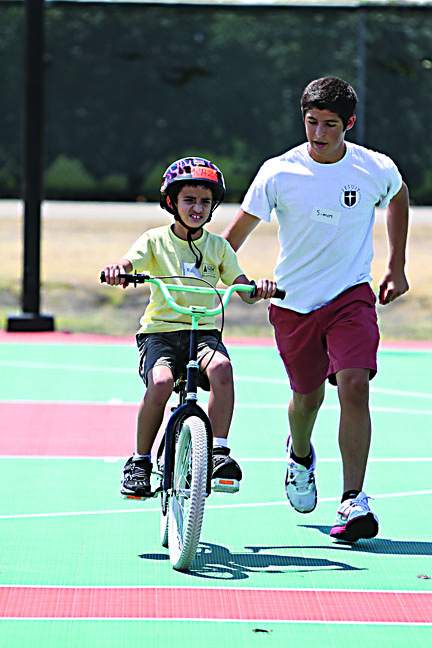Ben Hawkins|Mercury Staff Forty special needs children attended the Lose the Training Wheels camp at UTD, hosted by the Down Syndrome Guild of Dallas, which took place Aug. 8-12.