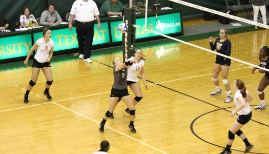 UTD V-Ball comes out on top over ETBU in tight match