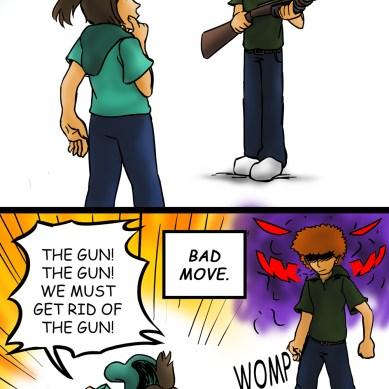Guns or people
