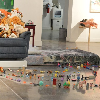 Playful displays, mark making abound in artists' shows