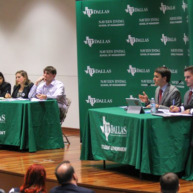 SG hosts student debate