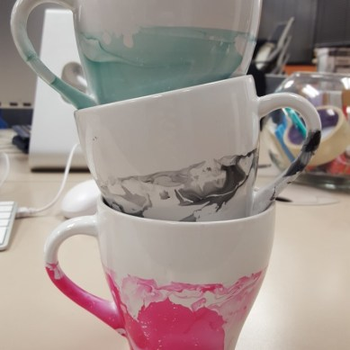 Pinpossible: Watercolor Mugs
