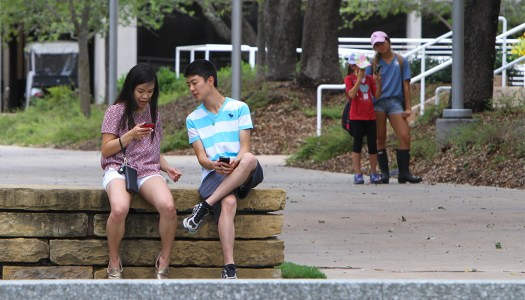 Campus teeming with 'Pokemon Go' players
