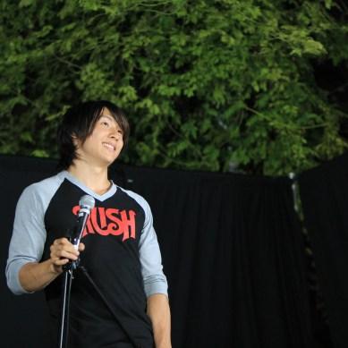 Singer finds voice