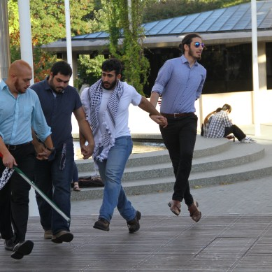 Palestinian dance group entertains campus with bimonthly performances