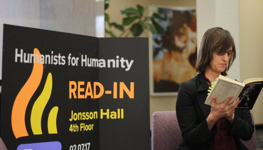 'Humanists for Humanity Read-In' promotes inclusivity on campus