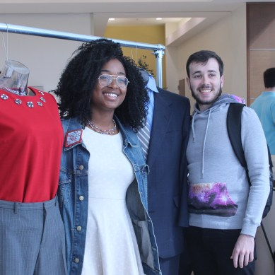 Students dress to impress through Comet Closet