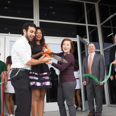 Campus hosts ribbon cutting ceremony for new SSA building