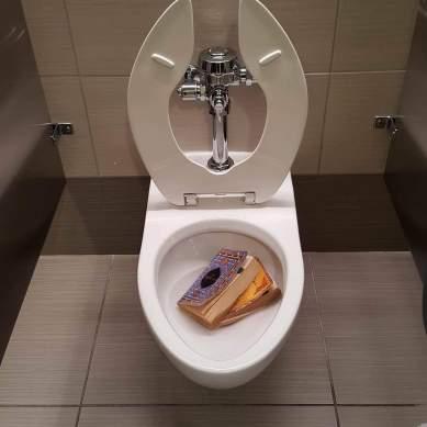 Qurans found in SU bathroom