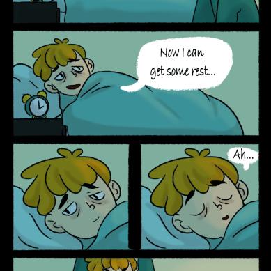 Never enough sleep
