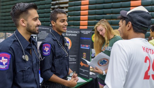 Students create campus emergency response team